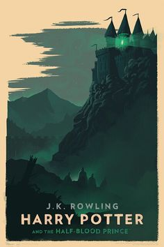 Harry Potter and the Half-Blood Prince. Art by Olly Moss