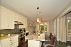Contemporary #Kitchen w/High End Appliances awaits you if you love to cook. Breakfast Area w/Walk-Out to Covered Patio. http://www.4WyndanceWay.GeraldLawrence.com #RealEstate by #ColdwellBanker #GeraldLawrence in #WyndanceEstates