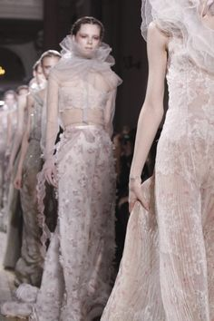 Is there more phenomenal than Valentino? |  the final walk at valentino haute couture s/s 11