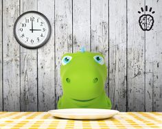 Dinosaurs eat dinner at 6pm. Right now, it's only 3pm! How many hours does the dino have to wait until dinner?