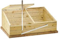 Woodworking Project Plan Garden Cold Frame
