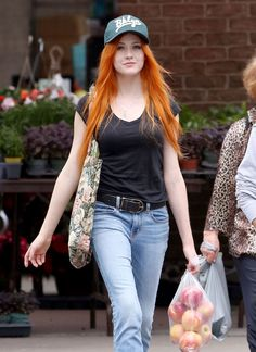 Katherine McNamara Style, Clothes, Outfits and Fashion- Page 26 of 37 - CelebMafia Katherine Mcnamara, Beautiful Red Hair, Gorgeous Redhead, Red Hair Woman, Ginger Girls, Hottest Redheads, Redhead Girl, Ginger Hair, Pretty Hairstyles