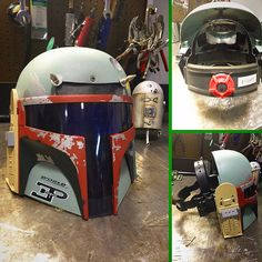If Boba Fett needed a welding helmet, this is what it would look like.