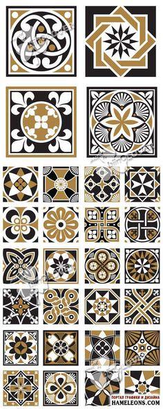 Винтажные декоративные орнаменты - Векторный клипарт | Vintage decorative ornaments vector