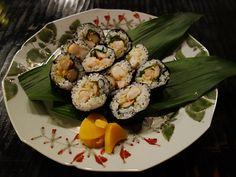 Local shrimp tempura rolls