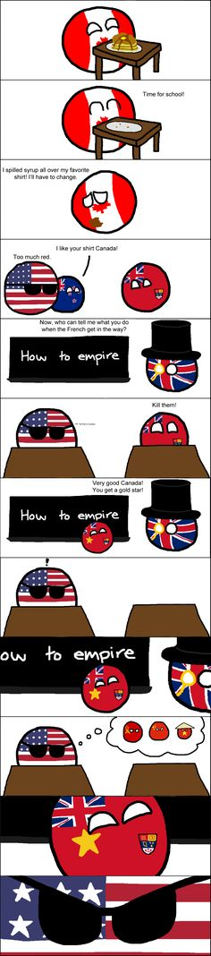 OMG that is so mean because I'm a french canadian but the ending makes me laugh xD