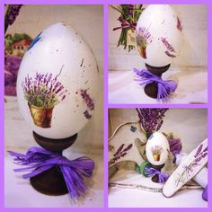 Easter egg Lavender