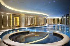 HBA Design's circular thinking for the spa at Hilton Hangzhou Qiandao Lake Resort, Chun'an, China. WATG served as the architect. Photo: Courtesy of Hilton Hotels & ResortsBack to story