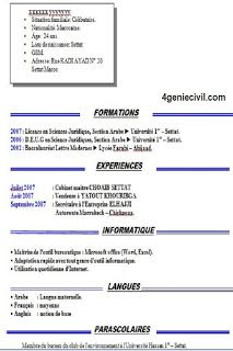 Cv Simple Word Doc A Telecharger Cv Simple Word Doc Exemple Cv