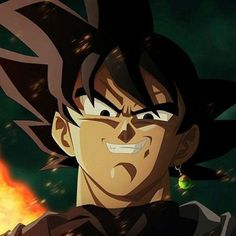 Black goku de Aleqmer | We Heart It