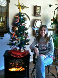 Me and the Tree 2011 :-)
