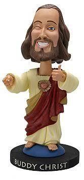Buddy Christ Bobble Head by Graphitti Designs, http://www.amazon.com/dp/B000B91NS8/ref=cm_sw_r_pi_dp_OQbvqb08QJHPY