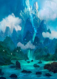 //Fantastic ~ The Art of Animation ~ Fairy dreams and fantasy #art #fantasy #illustration