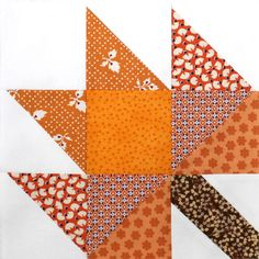 Maple leaf block.  Can be used for quilts or table runners.