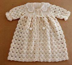 Baby crochet dress patterns free