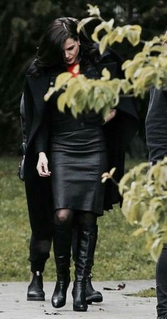 So this was a look Lana in tight leather will be the death of me...literally like rn