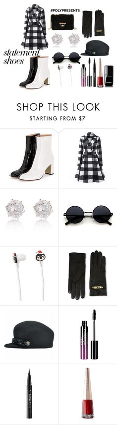"""""""Jill"""" by afia-asamoah ❤ liked on Polyvore featuring River Island, Forever 21, Moschino, Charlotte Russe, Kat Von D, Chanel, contestentry and polyPresents"""