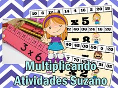 Jogo da multiplicação EM PDF | Atividades Pedagogica Suzano