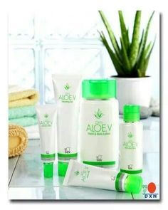 DXN Aloe Vera Cleansing Gel & Hand and Body lotion....The skin beautifier.