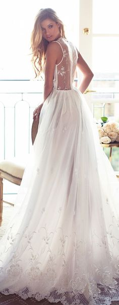Lurelly Bridal Ball Gown Wedding Dress | Deer Pearl Flowers