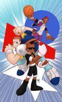 KOF American Team by Bilcassonato