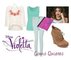 """Violetta 2 - Como Quieres (Episode 44)"" by violetta-leonetta ❤ liked on Polyvore featuring art"