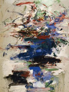 Joan Mitchell, Marlin, 1960