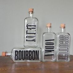 Love these for bar decorations