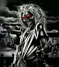 Iron Maiden , The Memories & The Music Iron Maiden Band, Eddie Iron Maiden, Heavy Metal Art, Heavy Metal Bands, Metal Music Bands, Doom Metal Bands, Skull Artwork, Metal Artwork, Iron Maiden Albums
