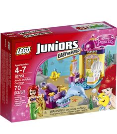 FOR DISNEY FANS: LEGO Juniors Easy to Build set from The Little Mermaid features Ariel's Dolphin Carriage.