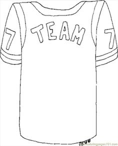 football jerseys for kids to print