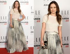 Olivia Wilde In H&M Conscious Exclusive Collection - 2015 Elle Style Awards