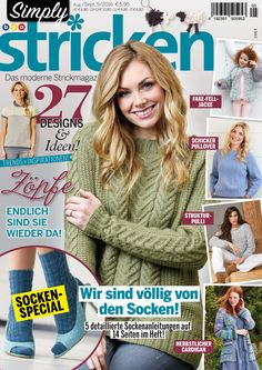 Simply Stricken Heft 05/2016   Simply Kreativ