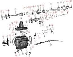 Transfer Case Dana Spicer 18 Exploded View Diagram Willys Jeep Model 18 Transfer Case parts