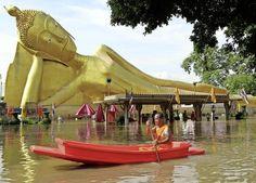Thailand wordt regelmatig getroffen door ernstige overstromingen.