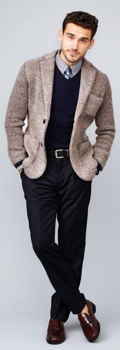 25 Stylish Winter Men Outfits For Work Styleoholic | Styleoholic
