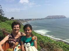 En el malecón de Miraflores de la Costa Verde! Precioso paisaje! #visitPerú #Perú #Lima #crochet #knit