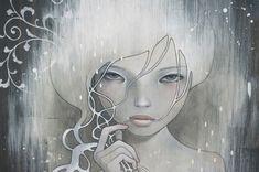 Audrey Kawasaki, She who dares, detail