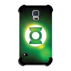 Green Lantern (logo glow) Galaxy S4 Rubber Case