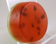Great for anytime of year, a refreshing scent and high quality base makes this a soap a pleasure to use. Soaps, Cantaloupe, Watermelon, Fruit, How To Make, Food, Hand Soaps, Essen, Meals