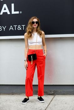 Love this bright Summer outfit for the Fourth of July