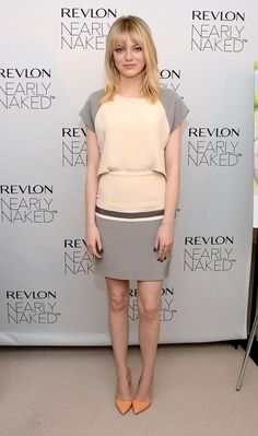 Emma Stone schools us all on the art of wearing neutrals.