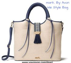 https://www.avon.com/product/mark-by-avon-isle-style-bag-58254?rep=dgari&utm_content=buffer61bb4&utm_medium=social&utm_source=pinterest.com&utm_campaign=buffer LOVE this! The perfect summer tote that can be used as a purse or beach bag! #beachbag #purse #tote #totebag #avon