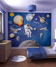 Space-Theme-Kids-Room-with-Wall-Murals-1