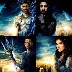 The Gods (Zeus, Poseidon, Hades, Athena) | Percy Jackson ...