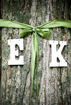 A Simple Easy Way To Personalize An Outdoor Wedding
