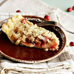 #Apple #Cranberry Crumble