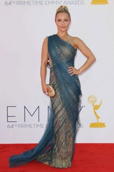 Hayden Panettiere Premios Emmy 2012 Sari-esque!
