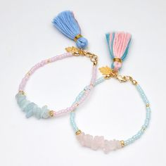 Pastel color 100%silk tassel bracelet,lucky charm,Amulet,silk tassel,friendship