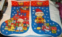 Sew It Yourself Bob The Builder Christmas Stocking Fabric Crafts   eBay $2.99